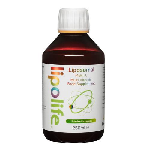 Lipolife Liposomal Multi-C Liposomal Multi-Vitamin - 250ml