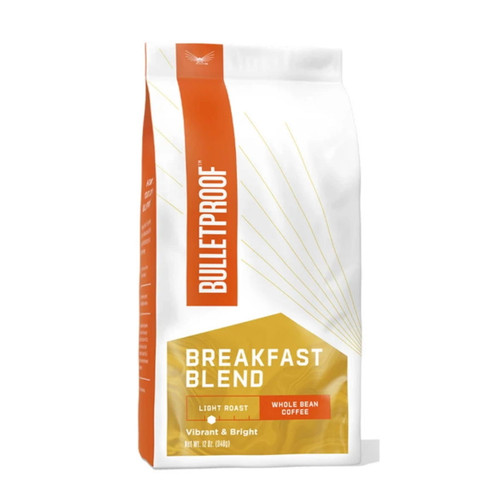 Bulletproof Breakfast Light Roast Coffee Beans - 340g (12oz)