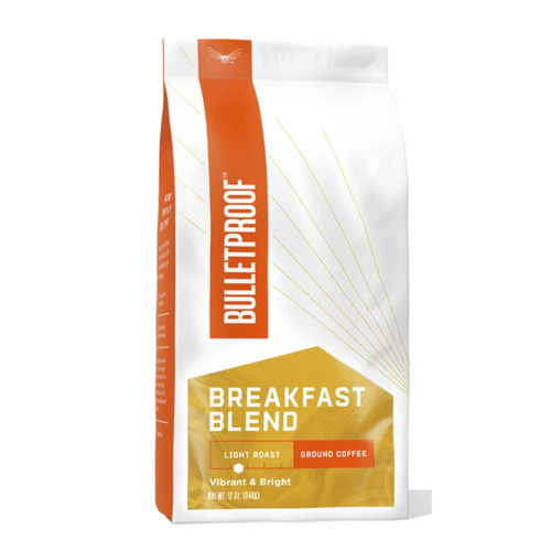 Bulletproof Breakfast Light Roast Coffee Ground - 340g (12oz)