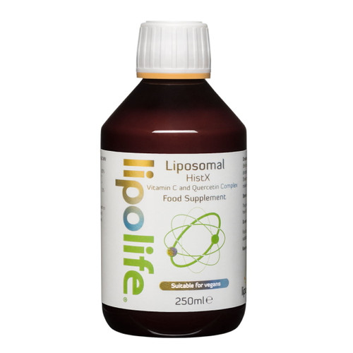 Lipolife Liposomal HistX Vitamin C and Quercetin - 250ml