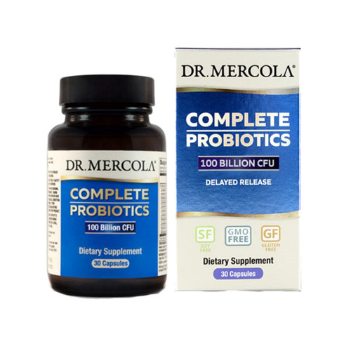 Dr Mercola Complete Probiotics (100 Billion CFU) - 30 capsules