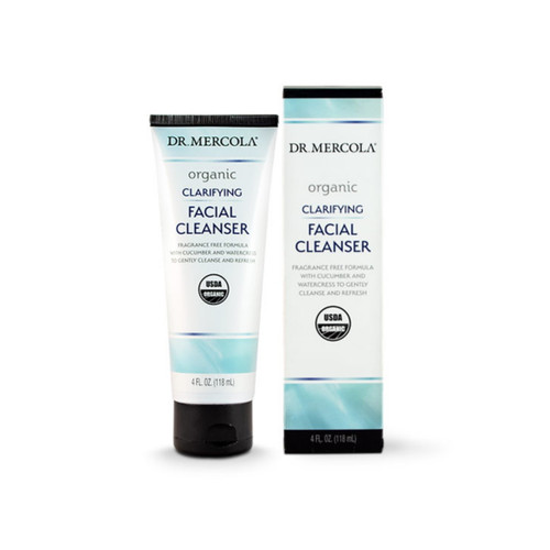 Dr Mercola Organic Clarifying Facial Cleanser - 118ml