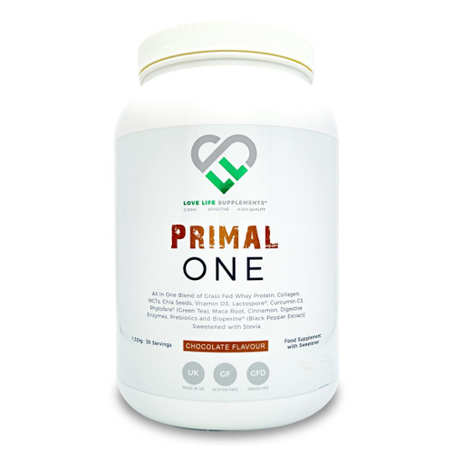 Love Life Supplements Primal One Whey Chocolate - 1.22Kg