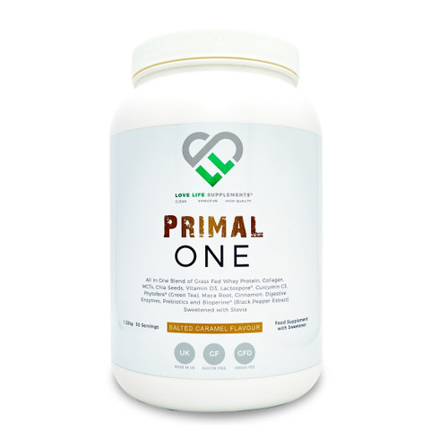 Love Life Supplements Primal One Whey Salted Caramel - 1.22Kg