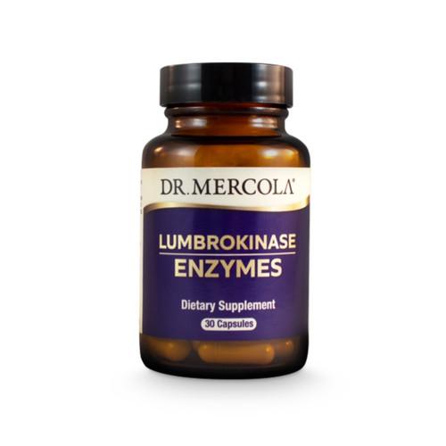 Dr Mercola Lumbrokinase Enzymes - 30 capsules