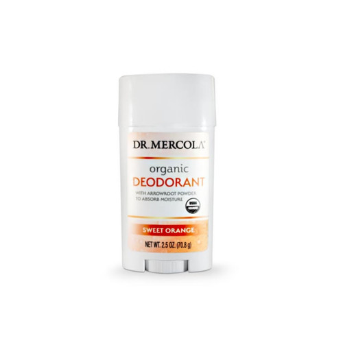Dr Mercola Healthy Skin Organic Deodorant - Orange (71g)