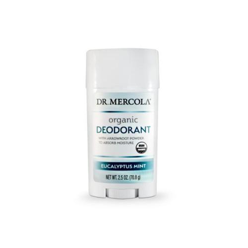 Dr Mercola Healthy Skin Organic Deodorant - Eucalyptus Mint (71g)