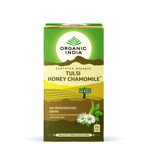 Organic India Tulsi Honey Chamomile Tea - 25 Tea Bags