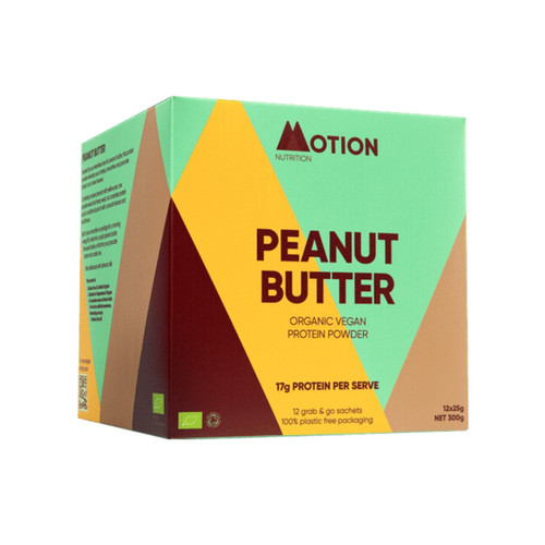 Motion Nutrition Peanut Butter Vegan Protein - 300g