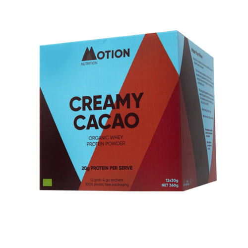 Motion Nutrition Creamy Cacao Whey - 360g