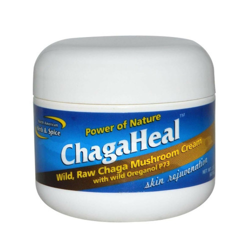 North American Herb & Spice ChagaHeal Cream - 60ml