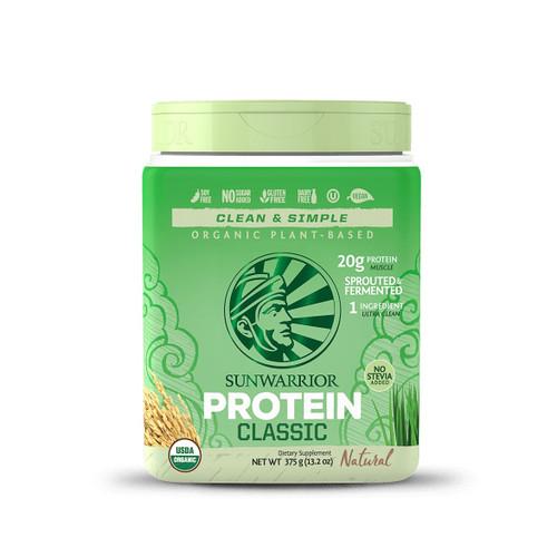 Sunwarrior Classic Protein (Natural) - 375g