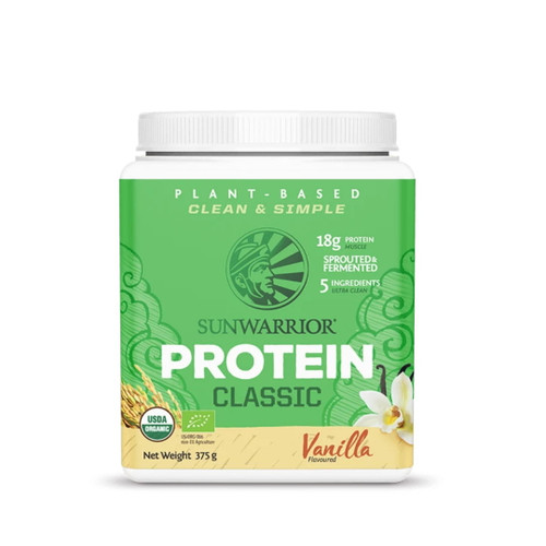 Sunwarrior Classic Protein (Vanilla) - 375g