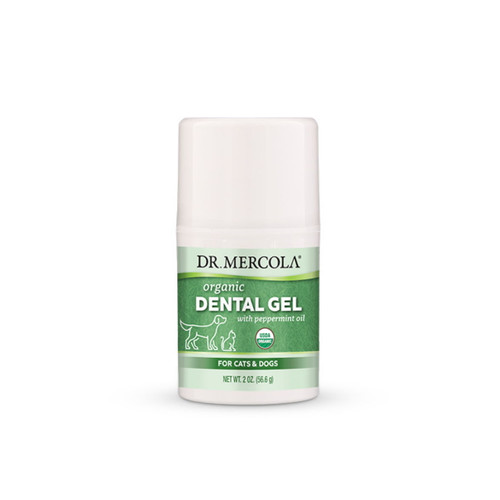 Dr Mercola Healthy Pets Organic Dental Gel For Dogs - 113.4g