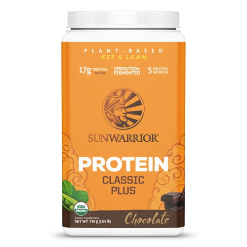 Sunwarrior Classic Plus Protein (Chocolate) - 750g