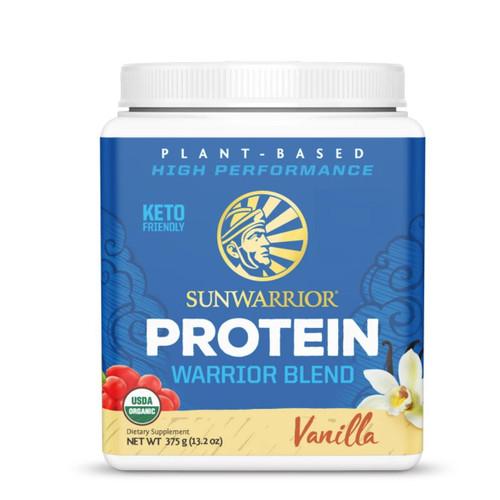 Sunwarrior Warrior Blend Protein (Vanilla) - 375g