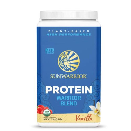 Sunwarrior Warrior Blend Protein (Vanilla) - 750g