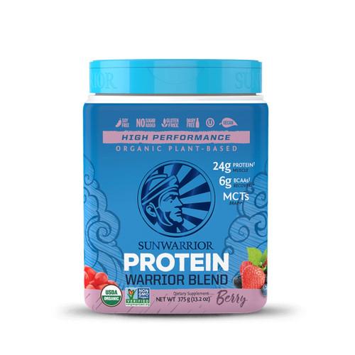 Sunwarrior Warrior Blend Protein (Berry) - 375g