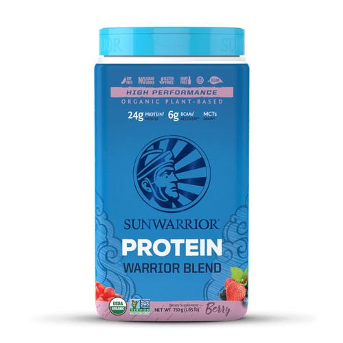 Sunwarrior Warrior Blend Protein (Berry) - 750g