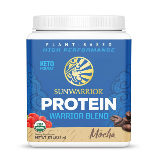 Sunwarrior Warrior Blend Protein (Mocha) - 375g