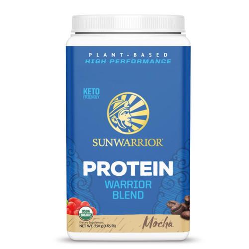 Sunwarrior Warrior Blend Protein (Mocha) - 750g