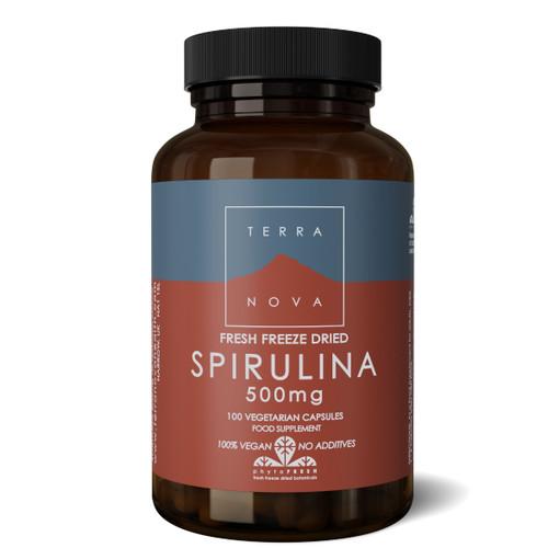 Terranova Spirulina 500mg - 100 capsules