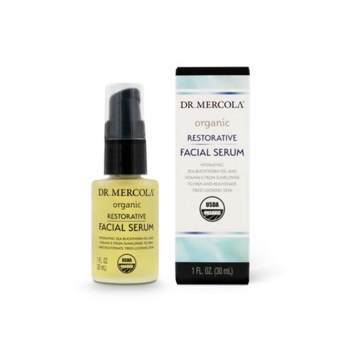 Dr Mercola Organic Restorative Facial Serum - 30ml