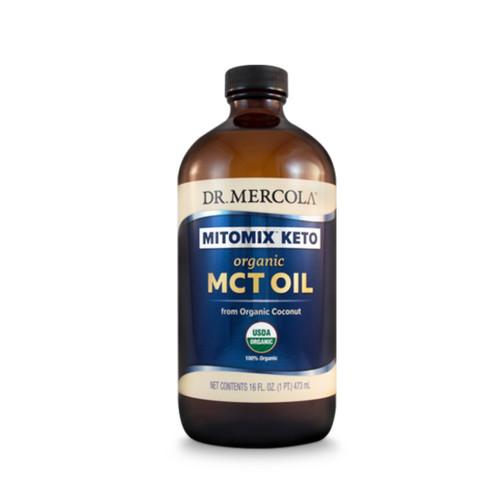 Dr Mercola Mitomix Keto Organic MCT Oil - 473ml