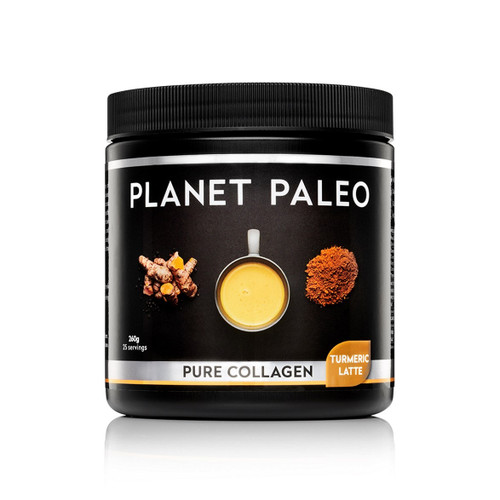 Planet Paleo Pure Collagen Hottie - Turmeric Latte - 260g