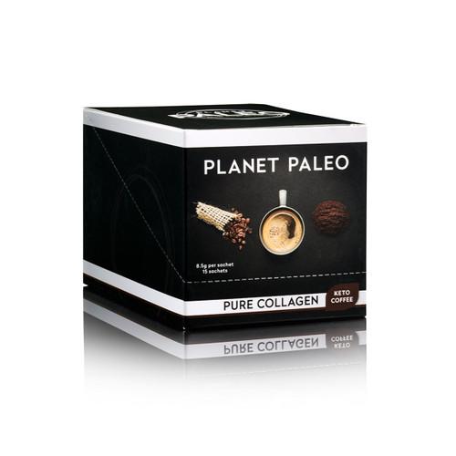 Planet Paleo Pure Collagen Hottie - Keto Coffee - 8.5g sachet