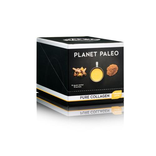 Planet Paleo Pure Collagen Hottie - Turmeric Latte - 10.4g sachet