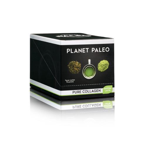 Planet Paleo Pure Collagen Hottie - Matcha Latte - 9g sachet
