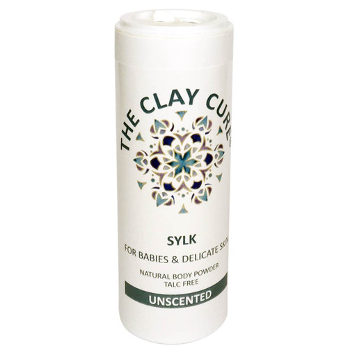 The Clay Cure Company Sylk Body Powder for Babies - 75g