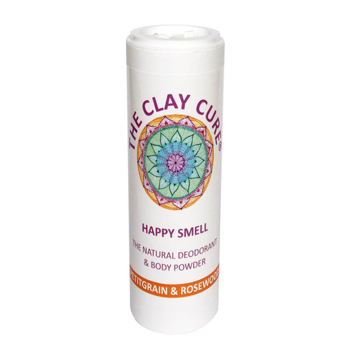 The Clay Cure Company Body Powder Petitgrain & Rosewood - 75g
