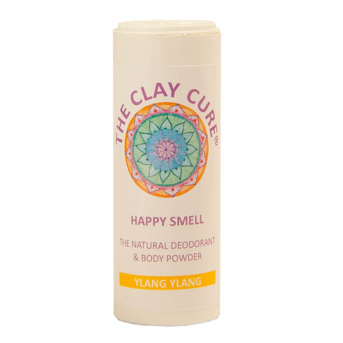 The Clay Cure Company Body Powder Ylang Ylang - 75g
