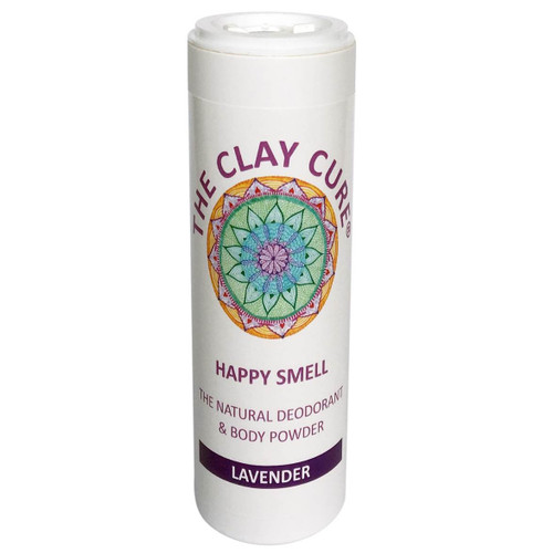 The Clay Cure Company Body Powder Lavender - 75g