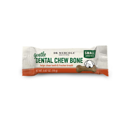 Dr Mercola Healthy Pets Gentle Dental Bone Small -Single (22g)