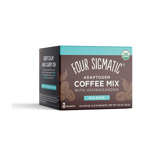 Four Sigmatic Adaptogenic Coffee Mix with Ashwagandha - 10 packets