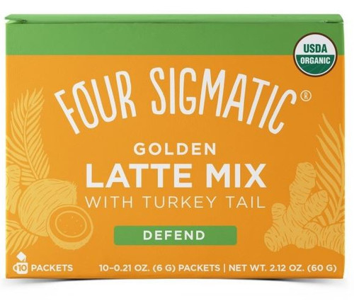 Four Sigmatic Golden Latte Mix with Turkey Tail - 10 packets