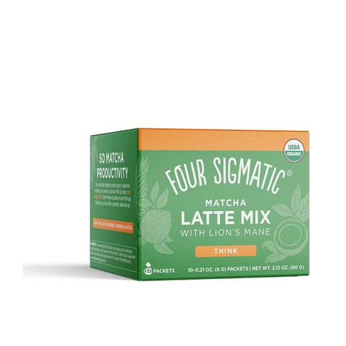 Four Sigmatic Matcha Latte with Lion's Mane - 10 packets
