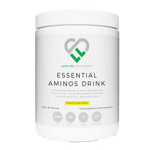 Love Life Supplements Essential Aminos Drink - 342g