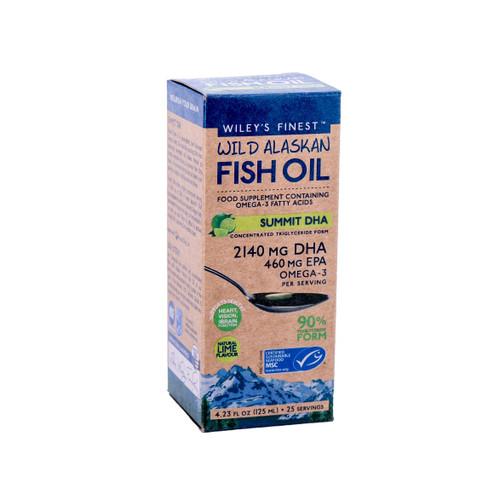 Wiley's Finest Wild Alaskan Fish Oil Summit DHA - 125ml