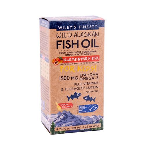 Wiley's Finest Wild Alaskan Fish Oil Elementary EPA - 125ml
