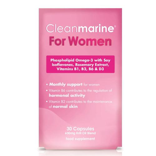 Cleanmarine Krill Oil for Women - 30 capsules
