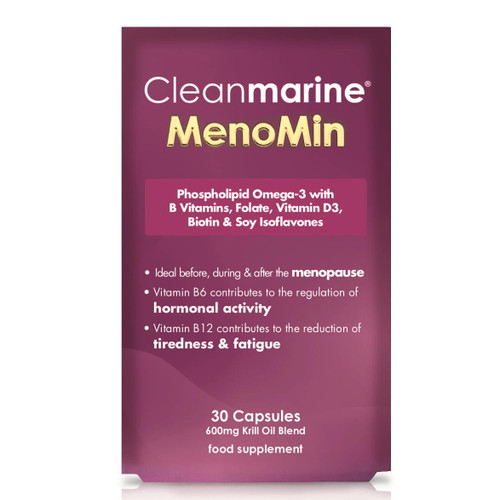 Cleanmarine Omega 3 MenoMin for Women - 30 capsules