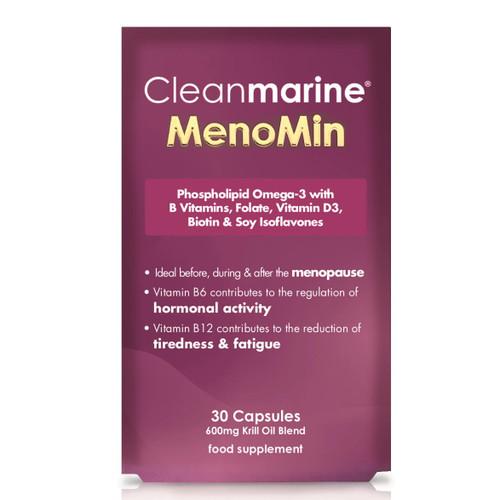 Cleanmarine Omega 3 MenoMin for Women - 30 capsules