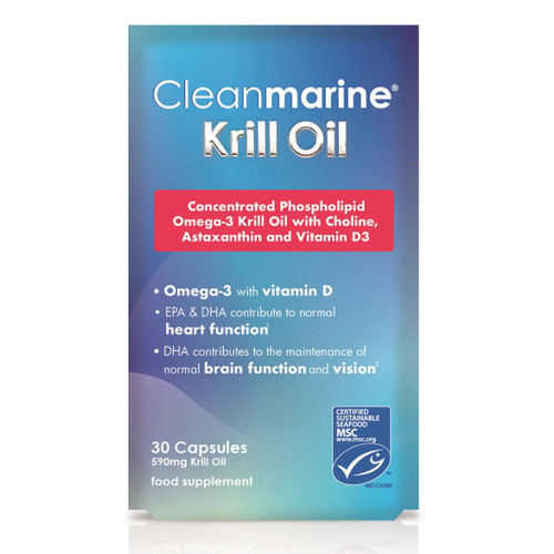 Cleanmarine Krill Oil - 30 capsules