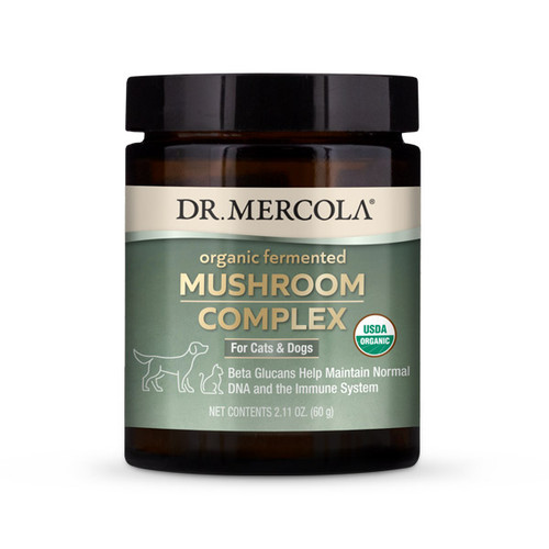 Dr Mercola Healthy Pets Mushroom Complex - 60g