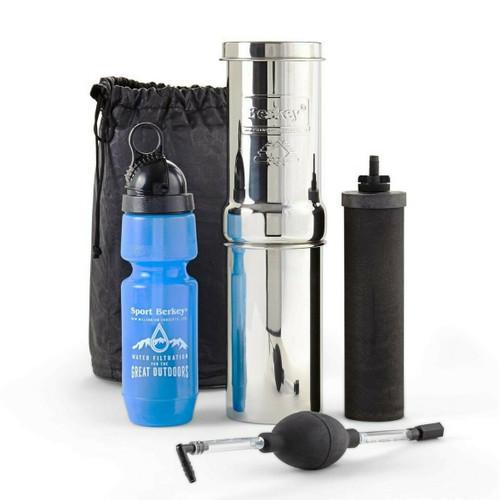 Berkey Water - Go Berkey Kit with Black Berkey Primer
