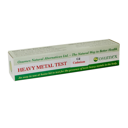 Osumex Heavy Metal Test Kit - Cadmium